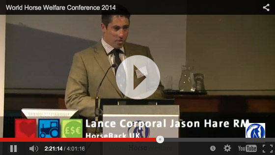 Jason 'Jay' Hare Horseback UK - Horse Welfare Conference Speech