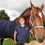Horseback UK - LPT Kelly Gooch with her horse Bertha